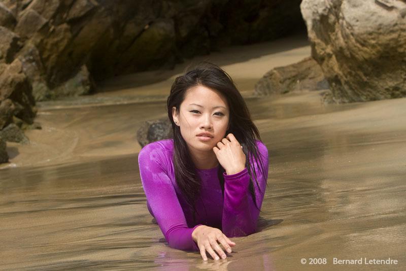Male and Female model photo shoot of Bernard Letendre and Vanessa Wu