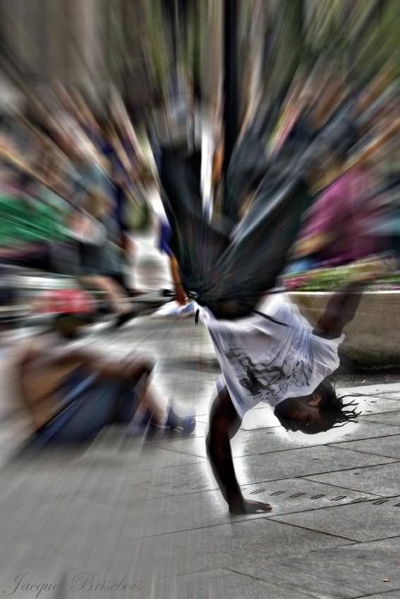 Montréal Sep 21, 2008 Jacques Brisebois street dancing