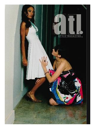 Atlanta, GA Sep 22, 2008 Atlanta Style Magazine, LLC Models: Janarda & Ioanna; Photographer: Kevin Stewart: Stylist: Gige