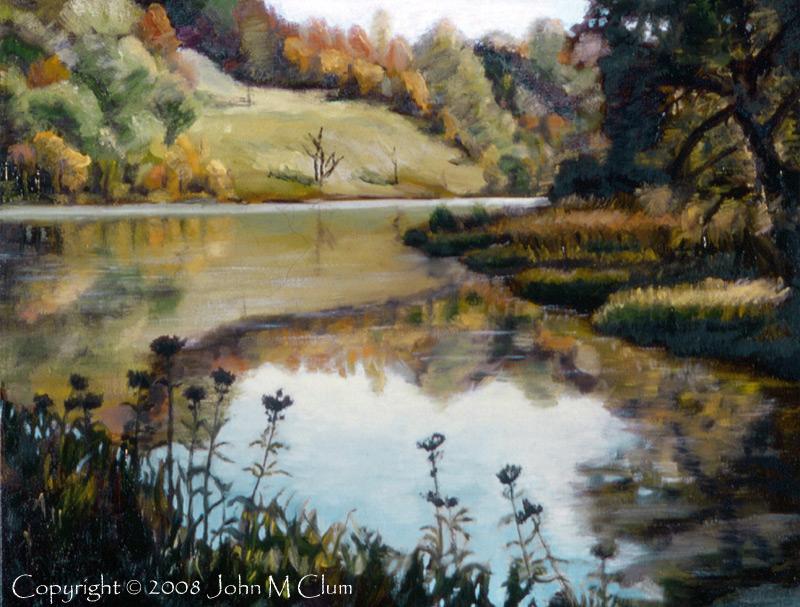 http://fineartamerica.com/featured/six-mile-creek-ithaca-john-clum.html Sep 22, 2008 John M Clum Six Mile Creek - Ithaca, NY   Oil on Canvas