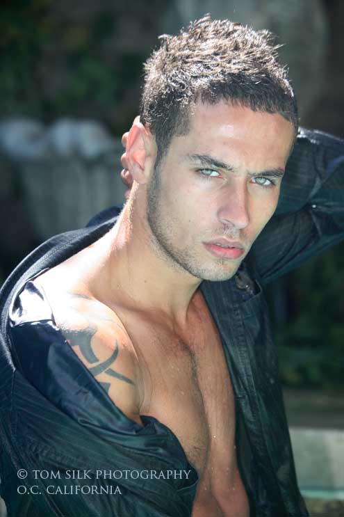 Male model photo shoot of Jacques G by Tom Silk Photography in O.C California