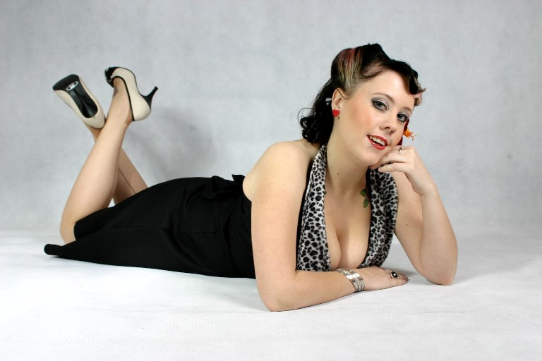Female model photo shoot of Sinister Visions