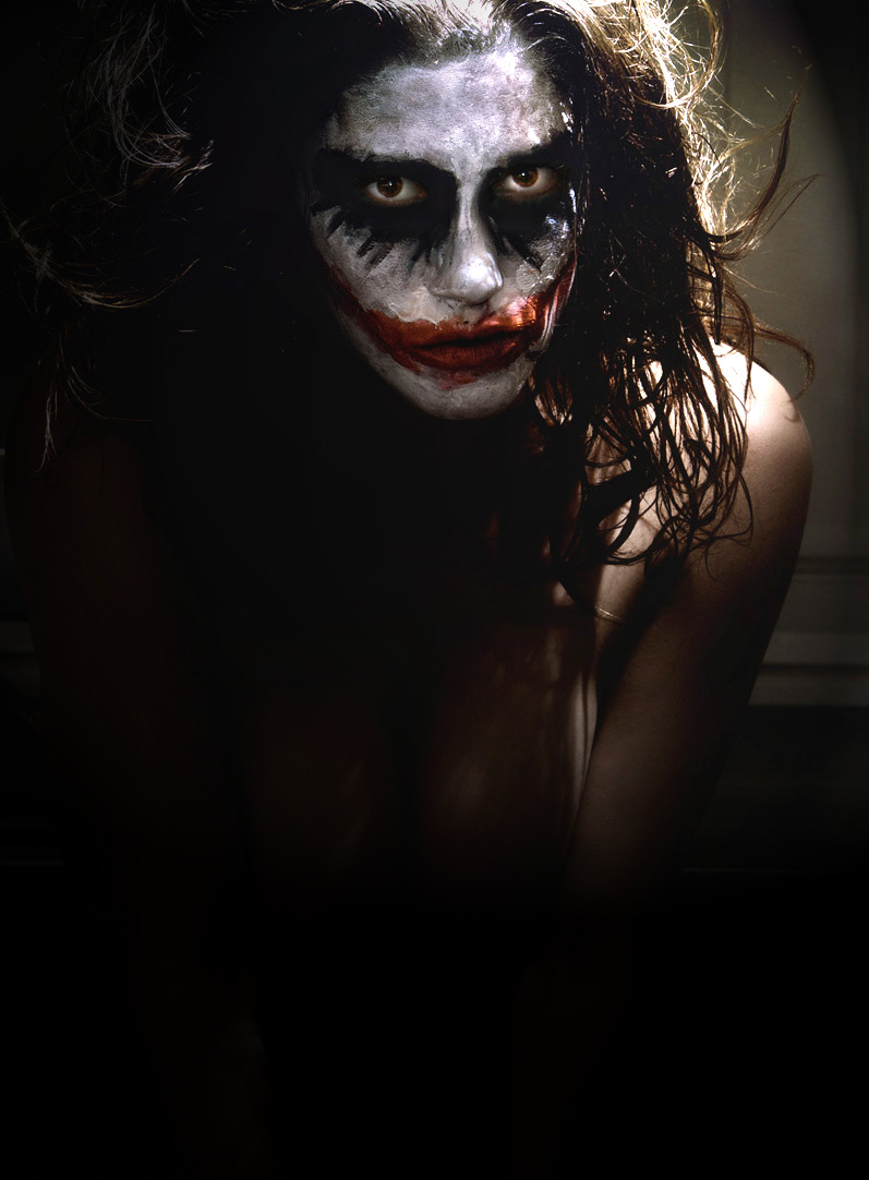 the Deepest Darkest place.. to find Heath Ledger...  Sep 23, 2008 Brand Design ...(makeup myself) ..why so Serious?