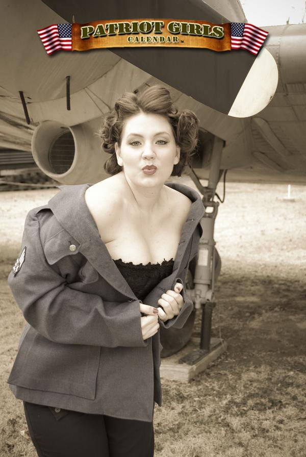 Sep 24, 2008 patriotgirlscalendar pinup!