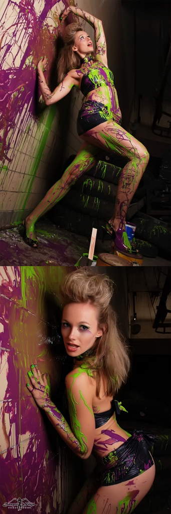 Oregon Sep 25, 2008 Danger Ninja Production paint makes me so feel good
