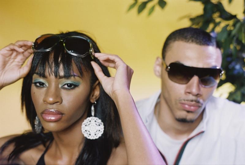 Female model photo shoot of Jade Greene and Riley Charles by kevin stewart in ATL, GA, makeup by Keya