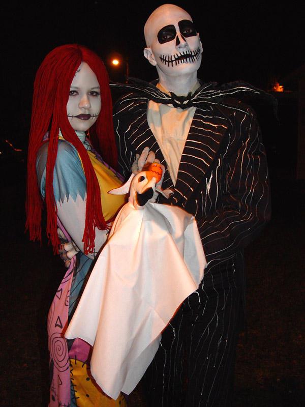 Halloweentown Sep 25, 2008 Alisa Farrington Me as Jack in a production of Nightmare b4 Xmas with my Sally