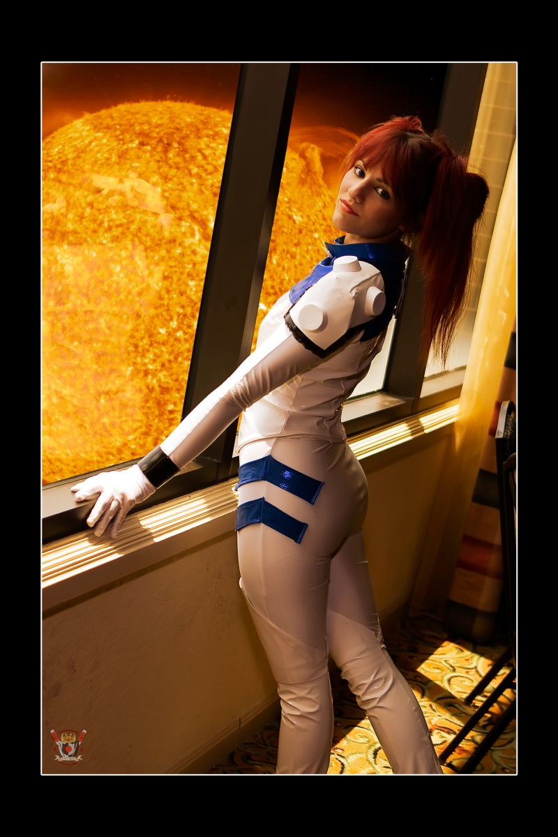 Sep 25, 2008 Anime Convention modeling - space girl mecha pilot