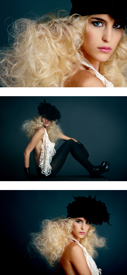 Sep 25, 2008 Photographer: Lara Milenko, Hairstylist: Kai Wong @ T.I.D, Make Up Artist: Sue McLaurin