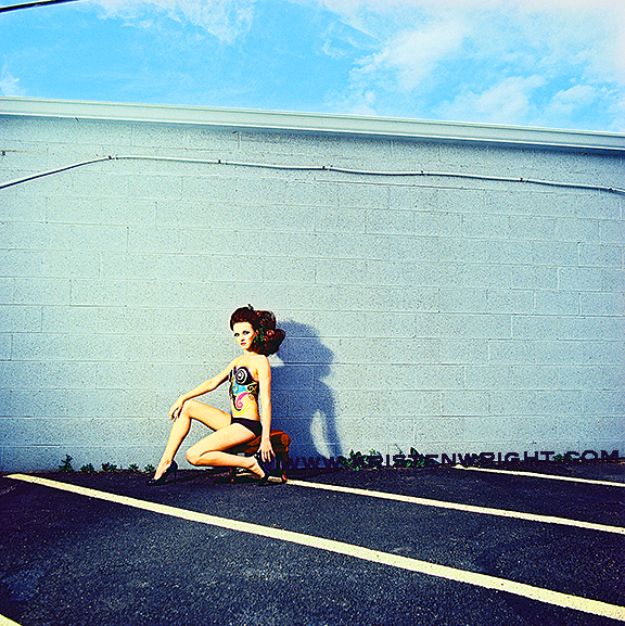 Female model photo shoot of Kristen Wright and Sasha_Kay