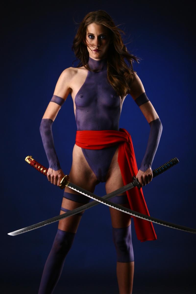 Phoenix AZ Sep 29, 2008 Gibson Photoart Psylocke X-Men