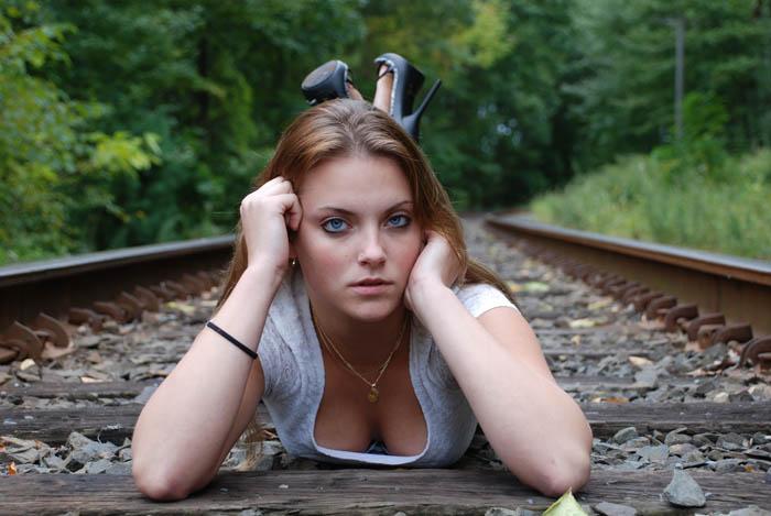 Shelton CT Sep 29, 2008 EPCT Photography Train Tracks