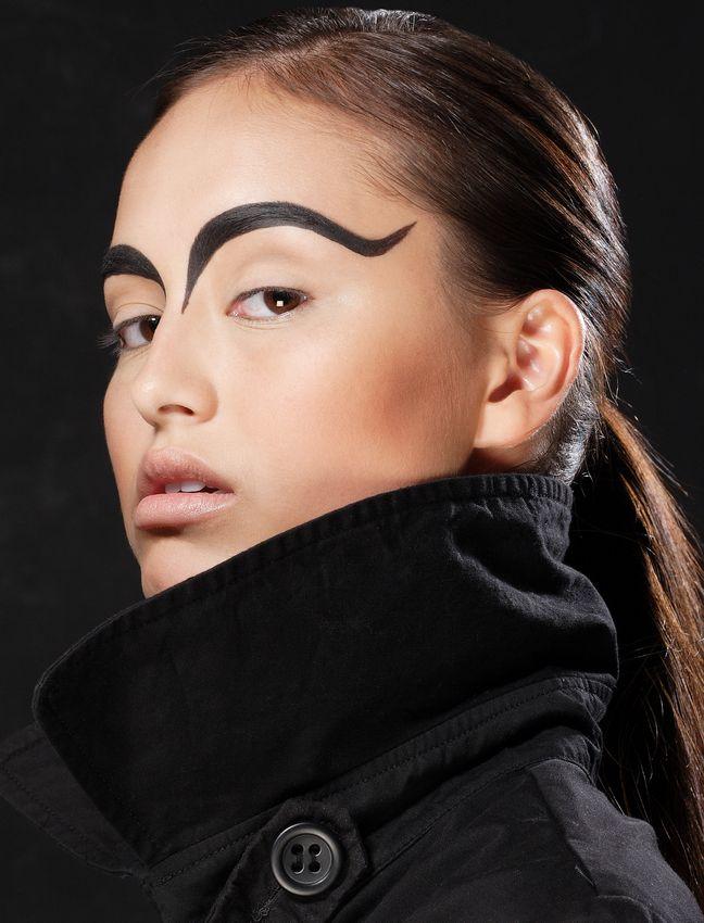 Female model photo shoot of Dashee La Maquilleuse by Yohanna Fashion
