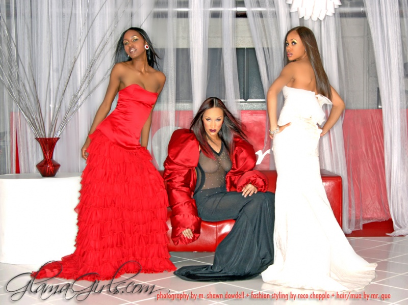 Atlanta Sep 30, 2008 ©2007 M. Shawn Dowdell Gowns by Reco Chapple + Cristal, Mahogany & Shay