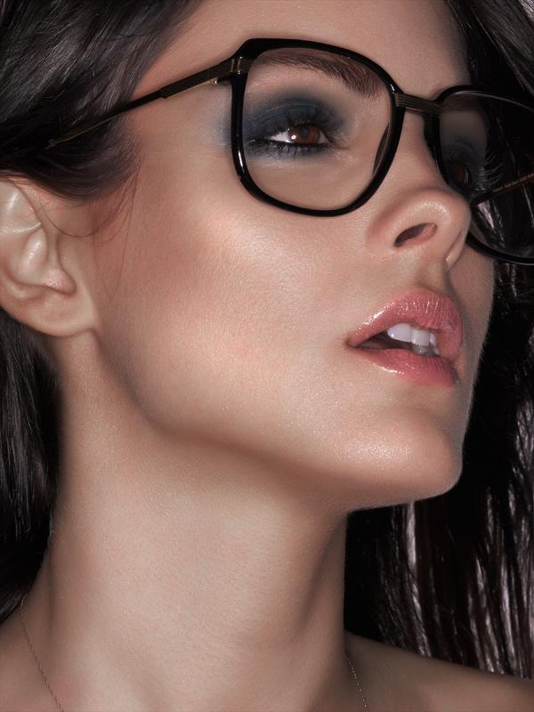 Female model photo shoot of Stevi by Luis Aragon, makeup by Stella Kae