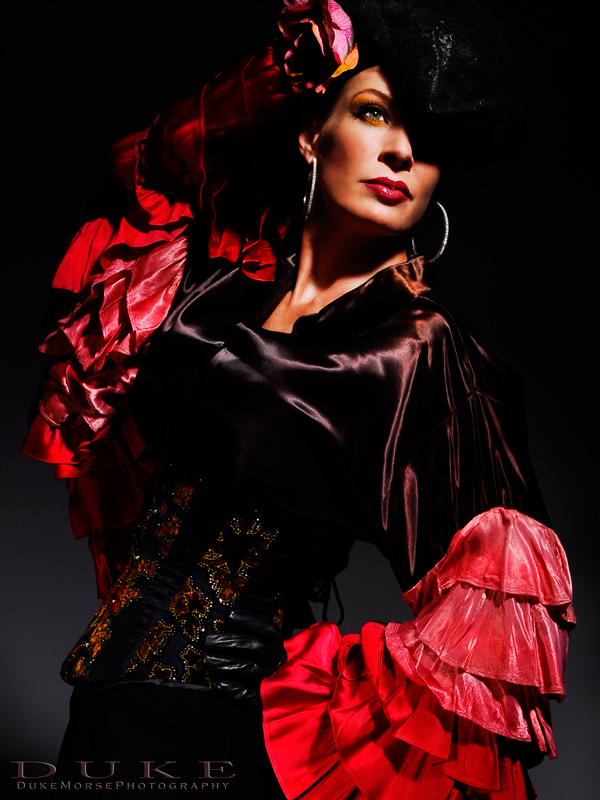 Austin TX Oct 01, 2008 Aubrey/Duke Morse  Flamenco Fashion