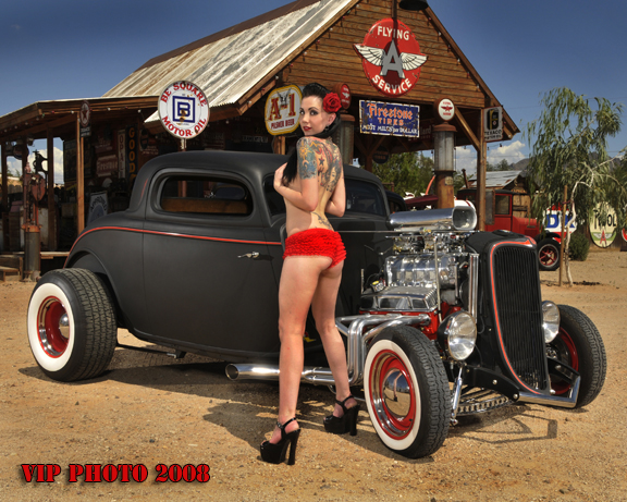 The gas station Oct 02, 2008 VIP Photo  Rat Rod