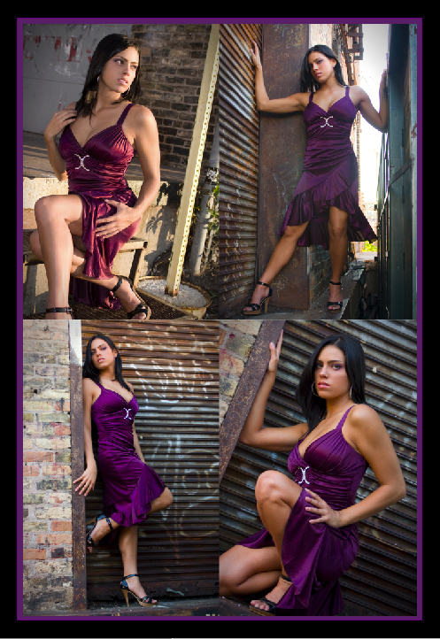 Female model photo shoot of J Boettner Studios and Leah Danielle in Warehouse District - Minneapolis