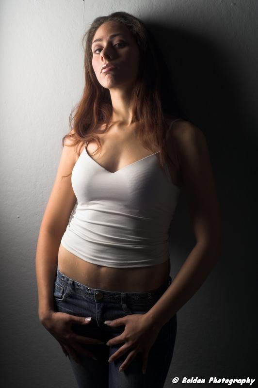 Female model photo shoot of Yolanda Marie Sanchez by Bolden Studio in
