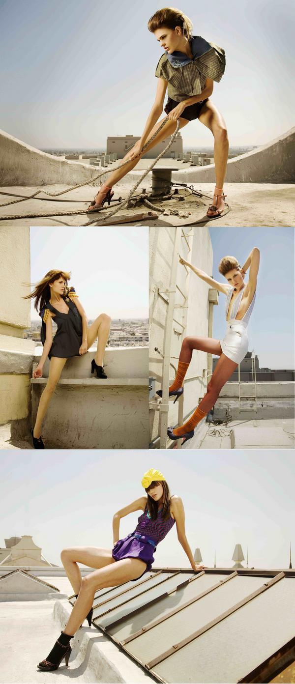 LA Oct 03, 2008 ©2008 Ari Abramczyk Model: Brita  MUA: Lucy  Hair: Sheena  Wardobe: Van Van  Assistant: William Steel