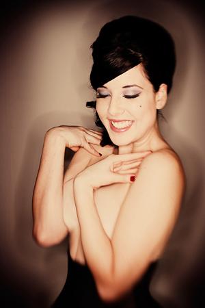 Female model photo shoot of Eva Valentine in Whitfield Studio