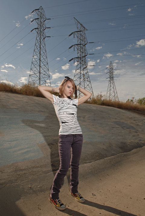 Female model photo shoot of Vanessa Agony by LJP Photo in Sacramento, CA