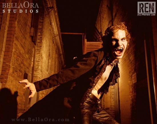 Clock Tower Alley Oct 04, 2008 BellaOra Studios Vampyre: The Costume Closet website promo Oct 2009 & 2010