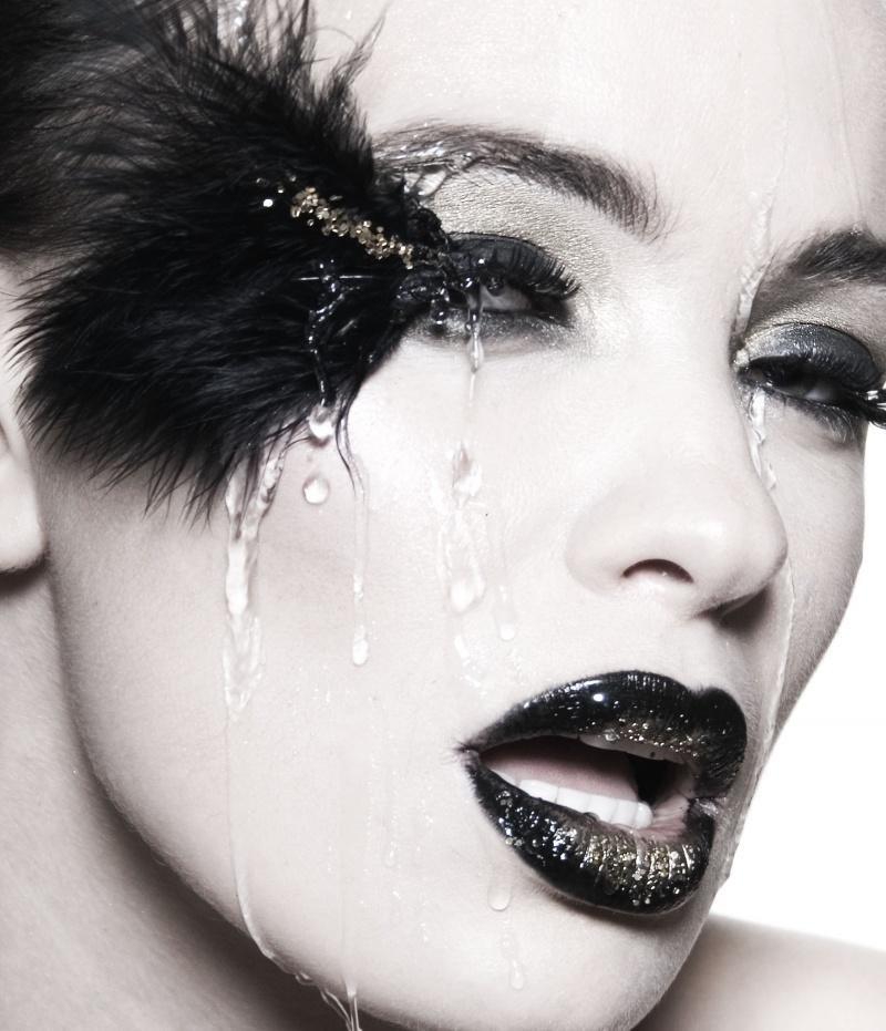 Los Angeles Oct 05, 2008 Christina Fineo-makeup Artist AJ-Model Beauty Shoot