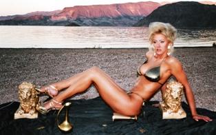 Male model photo shoot of LasVegasGlamourShots in Lake Mead