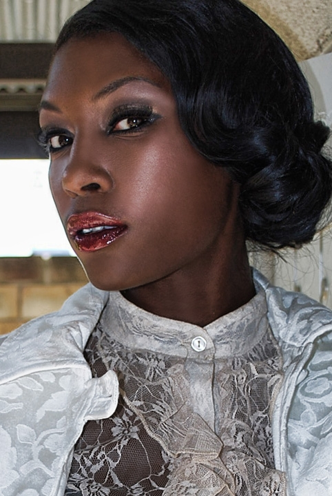 Female model photo shoot of ZeEnna by Cejae Photography, wardrobe styled by Yasmin C Moore, makeup by PaperDollsMakeup
