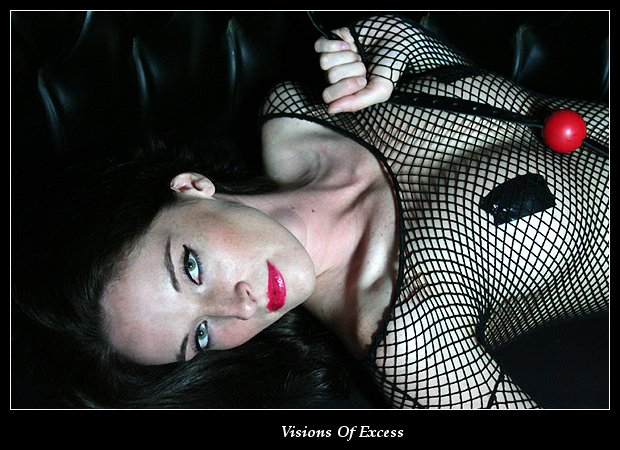 Female model photo shoot of Lethal Lisa by Visions Of Excess  in Clutch Cargo's - Pontiac, MI