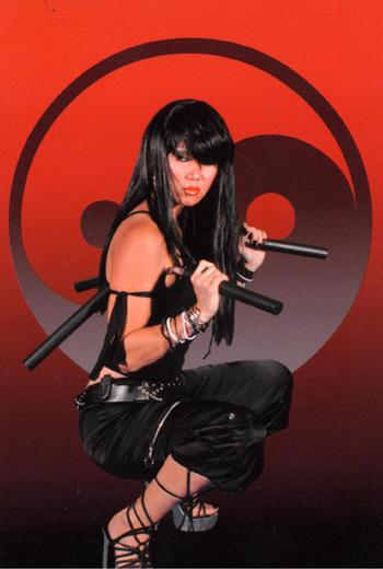 Palm Springs CA Oct 10, 2008 Virgins Eye Project Ninja!! Skills in Stunts..Nun Chucks/Balisong Technique