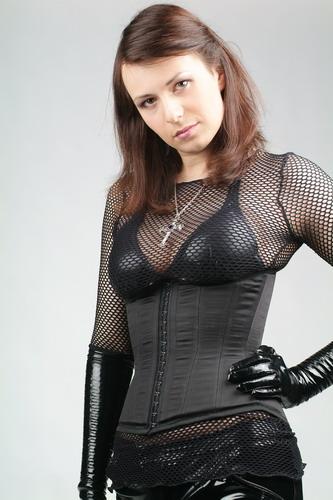 Female model photo shoot of Christine Davydova by Robert Borsch