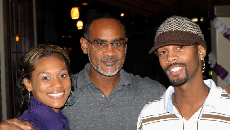 N.O.La. Oct 12, 2008 LTP Me my daughter and son