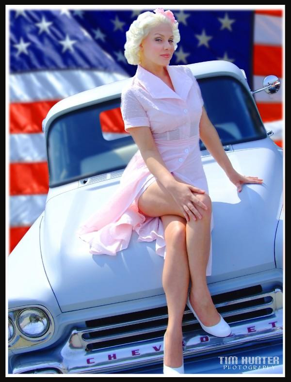 Last Originals Carshow - Pacifica, CA Oct 12, 2008 2008 - Tim Hunter Photography Kitty Walls - All American Girl