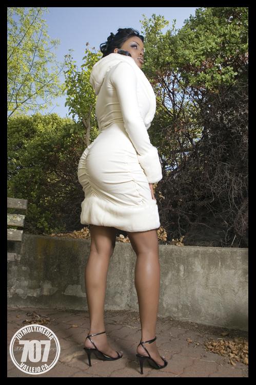 Female model photo shoot of Nicole Dixie, hair styled by Kimiya Stylz, clothing designed by Designer James Head