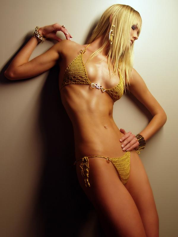 Oct 14, 2008 Shamayim/Manie One Golden Charm Bikini