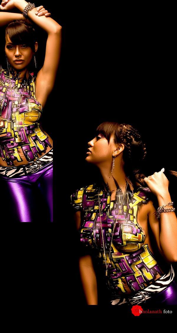 Los Angeles Oct 14, 2008 Bholanath foto studio Abstract design