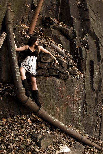 palisades, NJ Oct 14, 2008 we found an abandoned staircase on a cliff with grafitti and decided itd be a great place to shoot