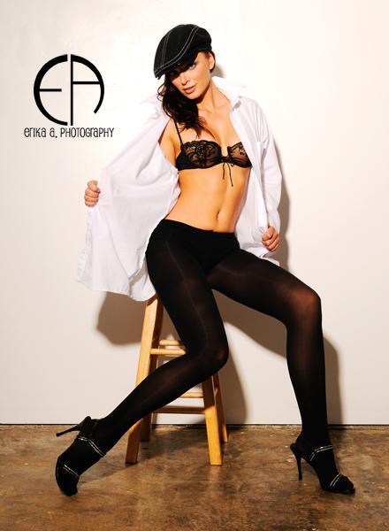 Female model photo shoot of Erika Seress , makeup by Victoria Makeup Artist
