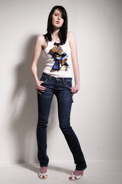 Female model photo shoot of Mieka Black