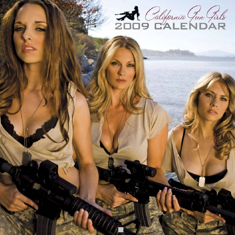Oct 15, 2008 (c) CALIFORNIA GUN GIRLS Cover- California Gun Girls Calendar