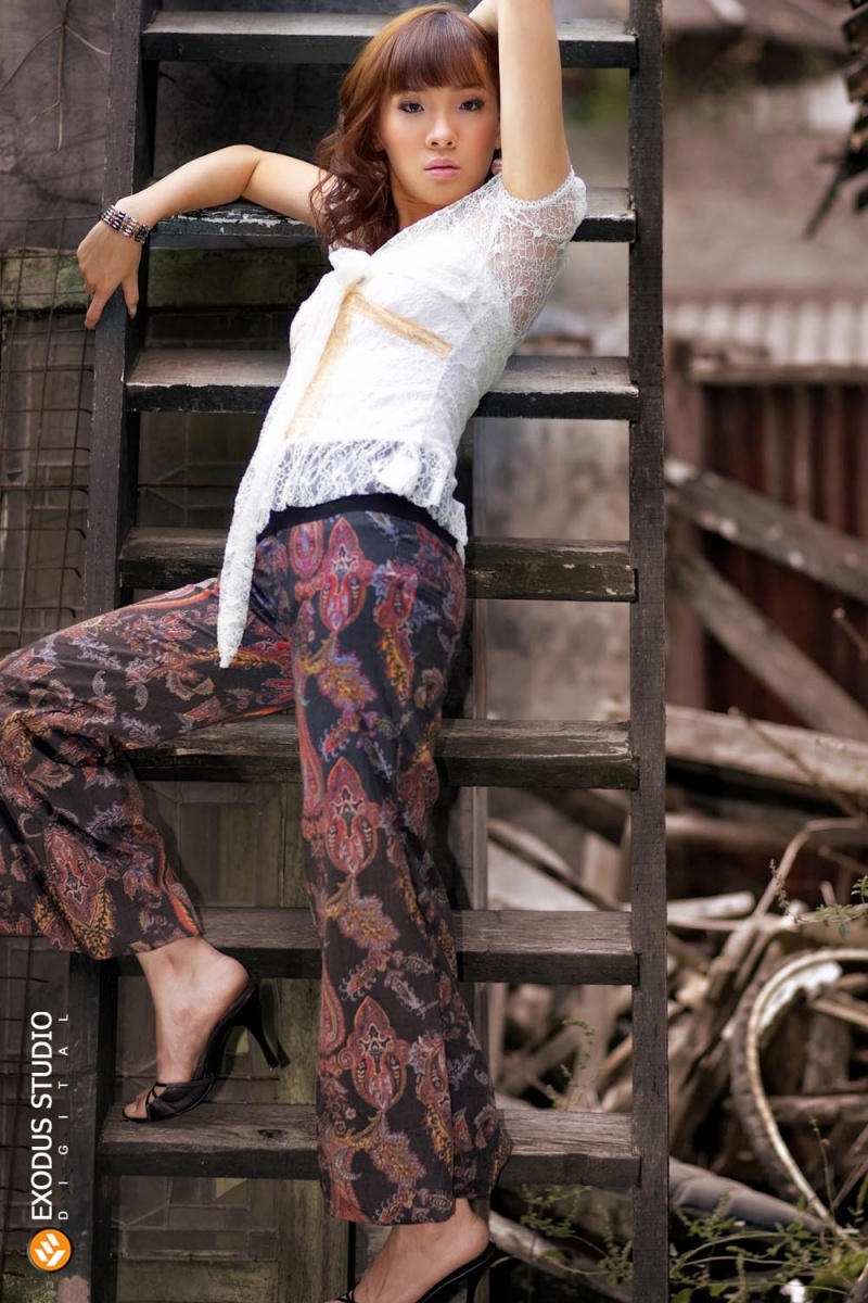 Female model photo shoot of Cecilia J in Bandung-Indonesia