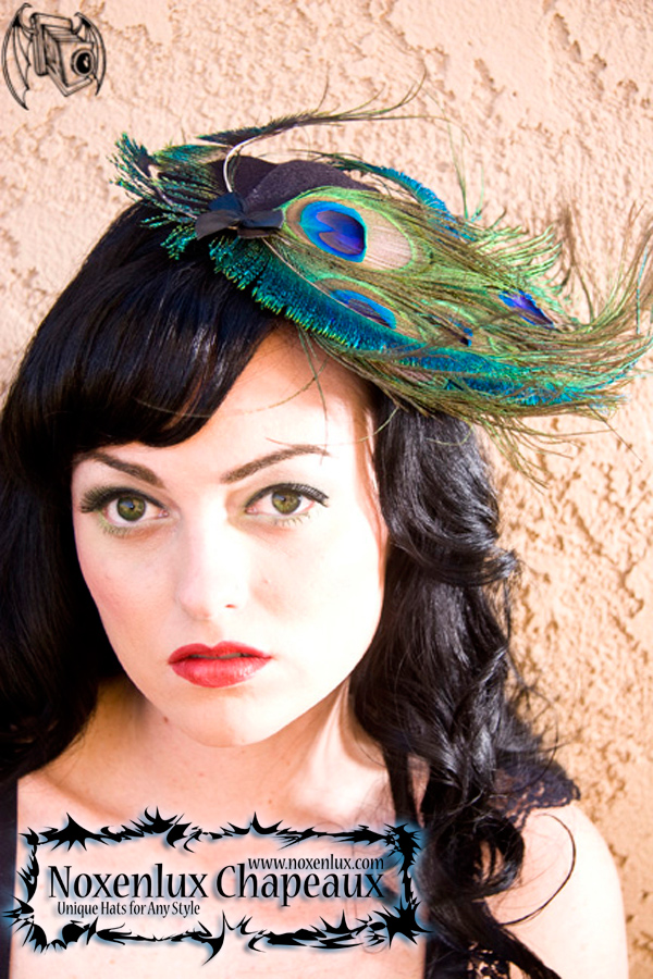 Oct 16, 2008 Photo: Nightmare Photography Model: Krystal Irene, Hat: Peacock Swoop