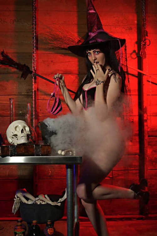 Houston Skyline Studio, Houston Texas. Oct 17, 2008 © 2007 Ron Davis, Reactuate Photography Goth Swimsuit October