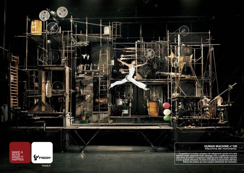 Oct 19, 2008 Freddy publicité pour FREDDY (italie)