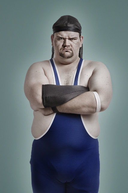 Oct 19, 2008 Matt Hoyle Photography Me as a wrestler