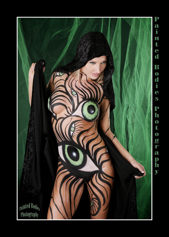 Oct 19, 2008 Painted Bodies Photo 2008 Green Eyes II