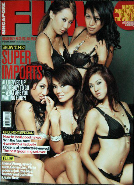 Oct 20, 2008 FHM cover