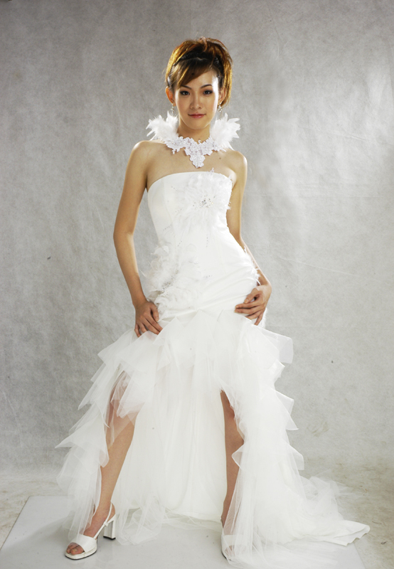 Female model photo shoot of Cecilia J in Harry Ibrahim Gown